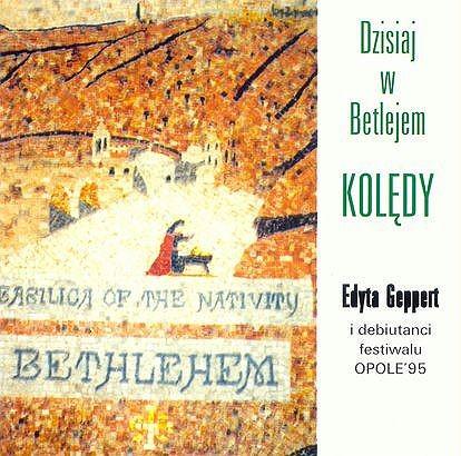 Edyta Geppert i debiutanci festiwalu Opole 95 Kolędy