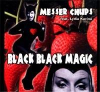 Messer Chups Black Black Magic