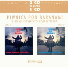Piosenki piwnicznych kompozytorów vol. 1 i 2 Piwnica Pod Baranami