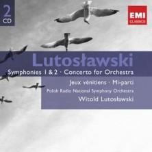 GEMINI Symphonies 1 & 2  Witold Lutosławski
