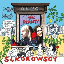Okno na planty Maja i Andrzej Sikorowscy