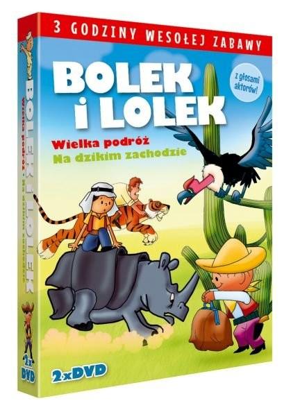 Bolek i Lolek Na Dzikim Zachodzie / Wielka podróż Bolka i Lolka
