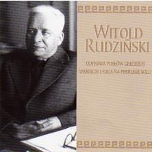 Chór i Orkiestra Teatru Wielkiego, Hubert Rutkowski  Witold Rudziński