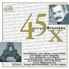 45 x Georges Brassens Sampler