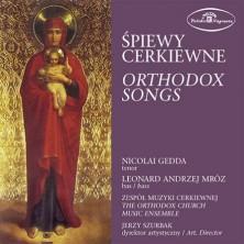 Śpiewy cerkiewne - Orthodox Songs Nicolai Gedda, Zespół Muzyki Cerkiewnej Jerzy Szurbak