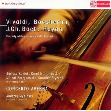 Koncerty wiolonczelowe Vivaldi, Boccherini, Bach, Haydn