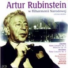 Rubinstein Artur Fryderyk Chopin, Johannes Brahms