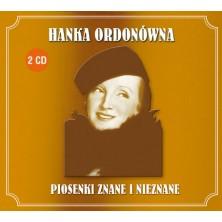 Piosenki znane i nieznane Hanka Ordonówna