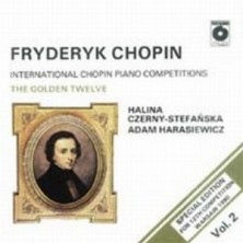 Chopin: The Golden Twelve Vol. 2 International Chopin Piano Competitions Fryderyk Chopin