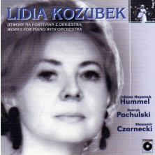 Works for piano with orchestra Utwory na fortepian z orkiestra Lidia Kozubek
