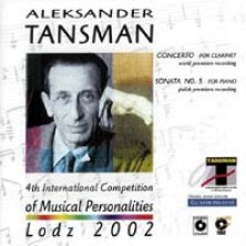 4 th International Competition of Musical Personalities Łódź 2002 A. Tansman, F.Liszt, W.A. Mozart Aleksander Tansman