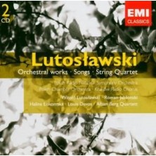 GEMINI Orchestral Works Songs String Quartet Witold Lutosławski