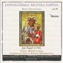 Jasnogórska Muzyka Dawna vol.48 Polska Orkiestra XVIII wieku / Polish Orchestra of the XVIII century / Cantores Minores Wratislavienses
