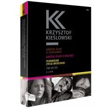 Krzysztof Kieślowski BOX 4 DVD Krzysztof Kieślowski